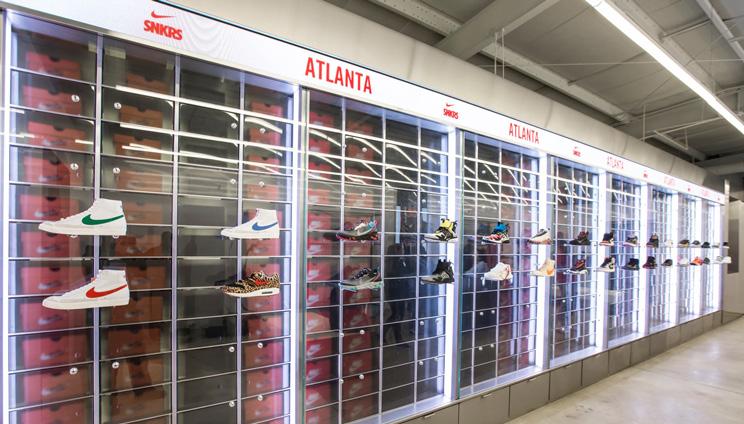 Cacheflowe | Code | Installation | SNKRS Atlanta