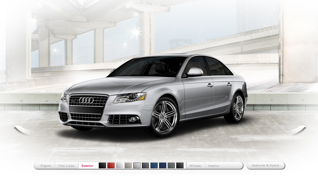 Cacheflowe Code Web Audi A4 Microsite